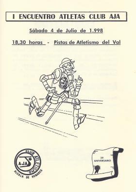 1998 Primer Encuentro Antiguos AtletasAJA