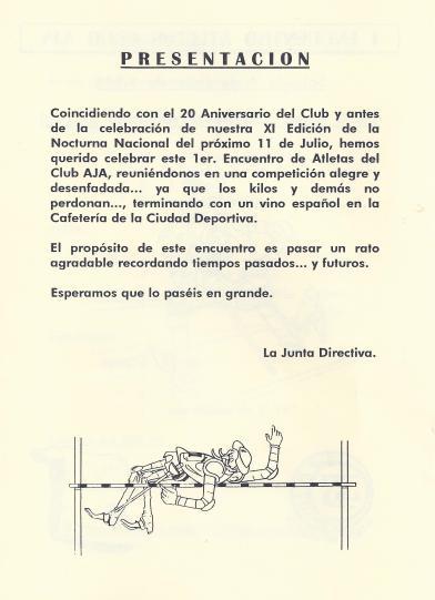 1998 Primer Ecuentro Antigüos AtletasAJA2