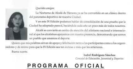 1996 IX Nocturna Isabel Rodríguez