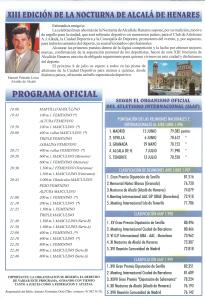 2000 XIIIprograma NOCTURNA