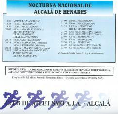 1998-xi-nocturna-programa-oficial-de-pruebas